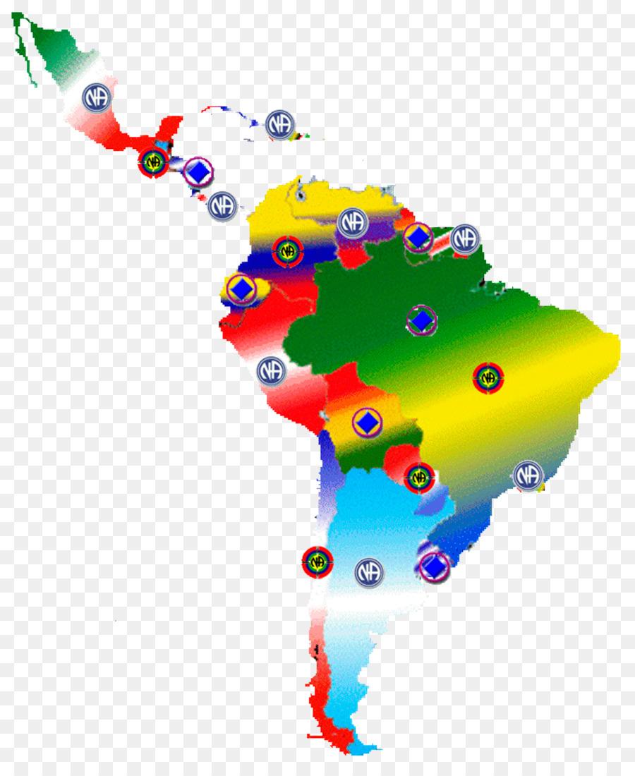 Latin America United States, South America Map Spanischsprachiger ...