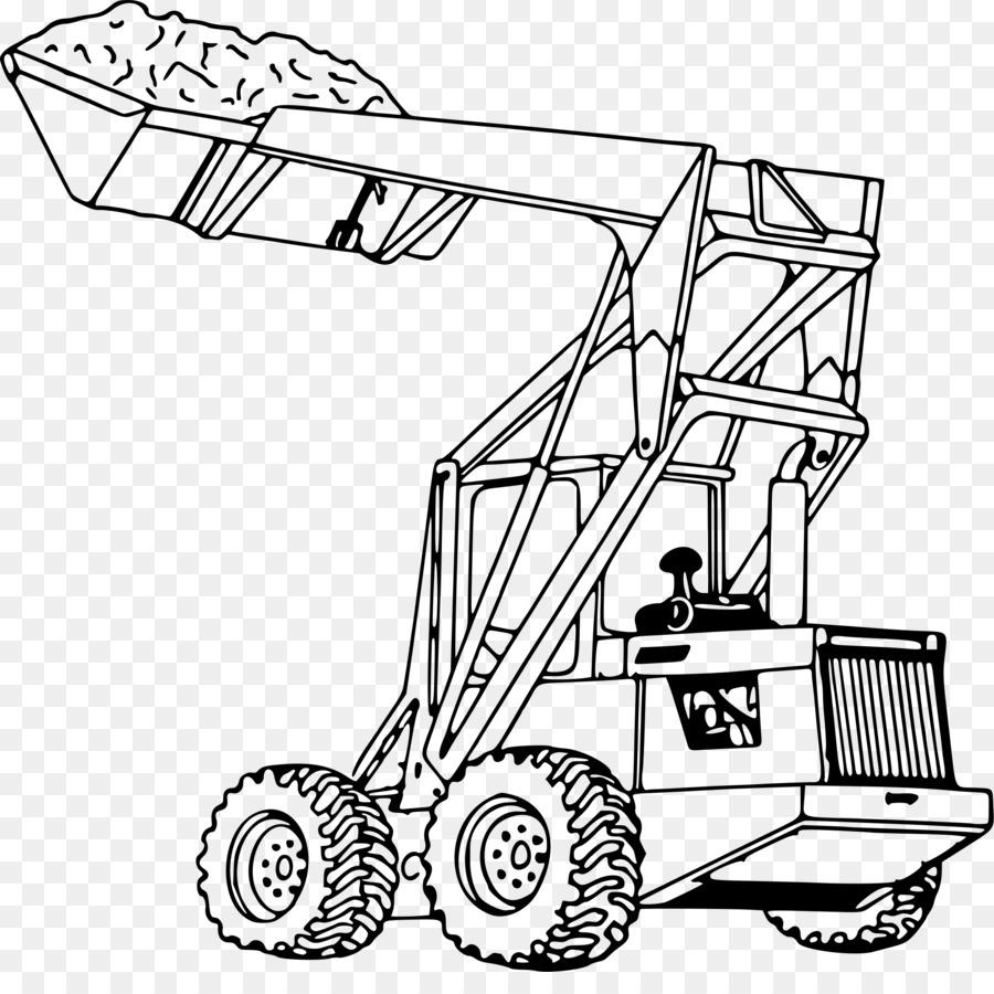 El modo de transporte de John Deere Tractor Cargador - pala png ...
