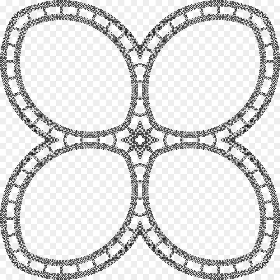 Símbolo de nudo Celta Clip art - marco del círculo Formatos De ...