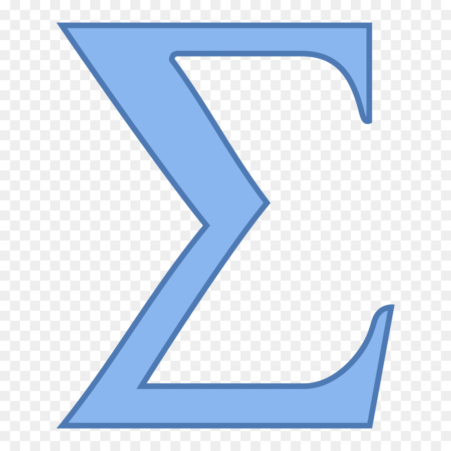 Sigma Symbol Summation Number Computer Icons Excel Png Download