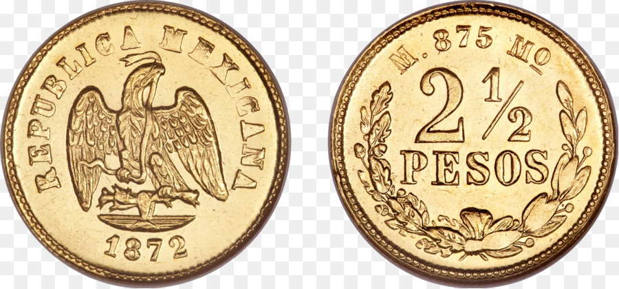 Gold Coin Mexican Mint Peso Currency Coins