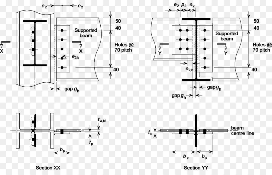 I-viga de Acero del marco de Encuadre - columna Formatos De Archivo ...