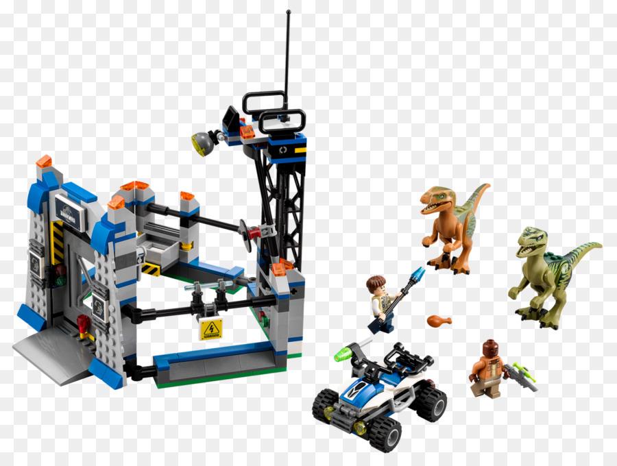 Lego Jurassic World Juguete Lego minifigures Velociraptor - jurassic ...