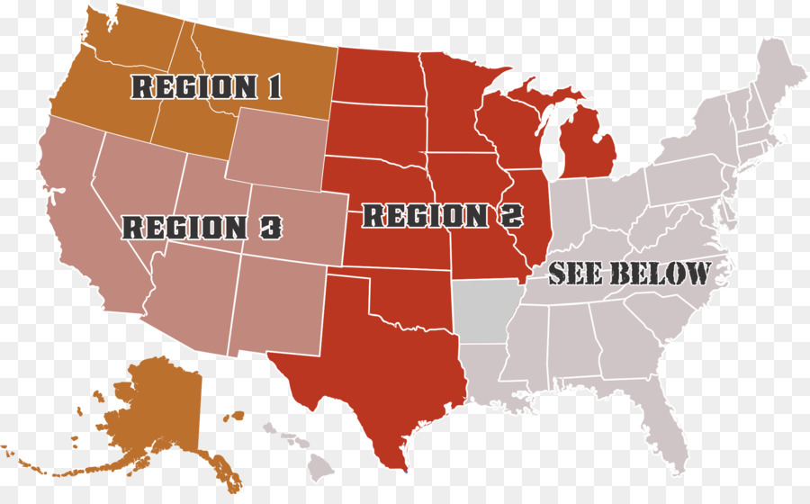 Compact State Map.Boise State University U S State Interstate Compact Law Tax Usa