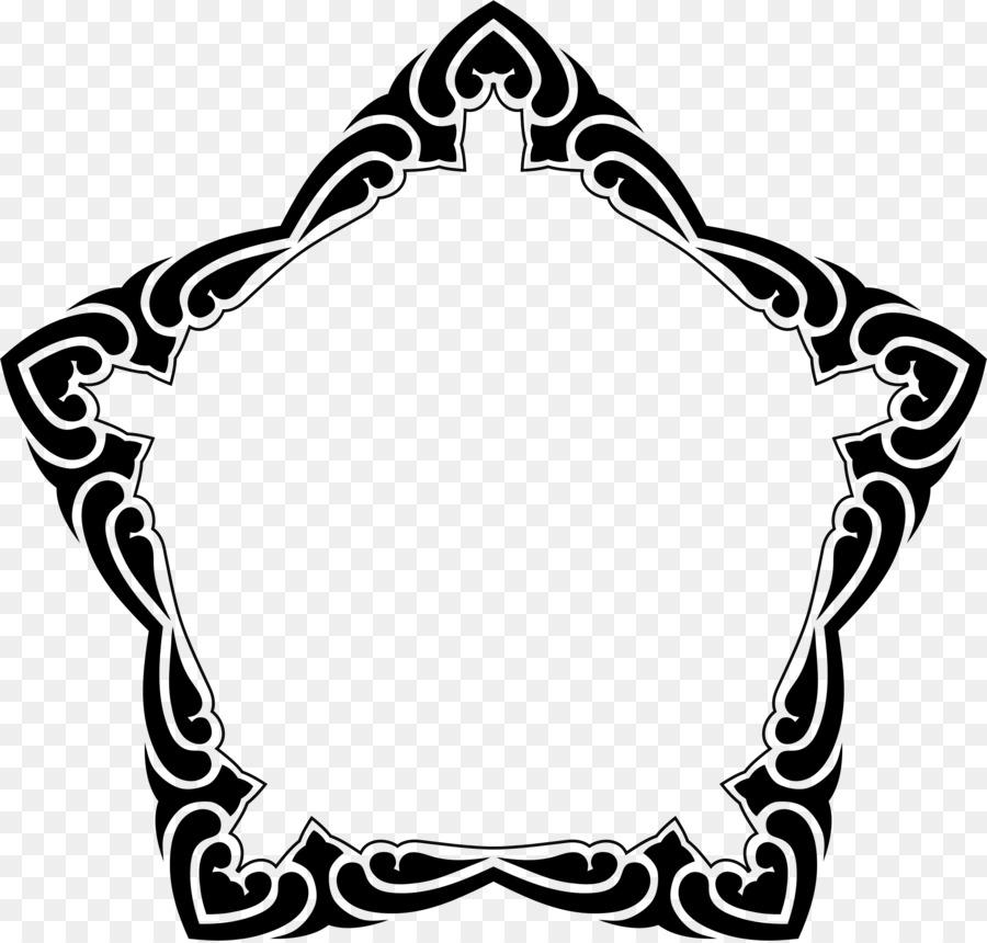 En blanco y negro imágenes prediseñadas - marco cuadrado Formatos De ...