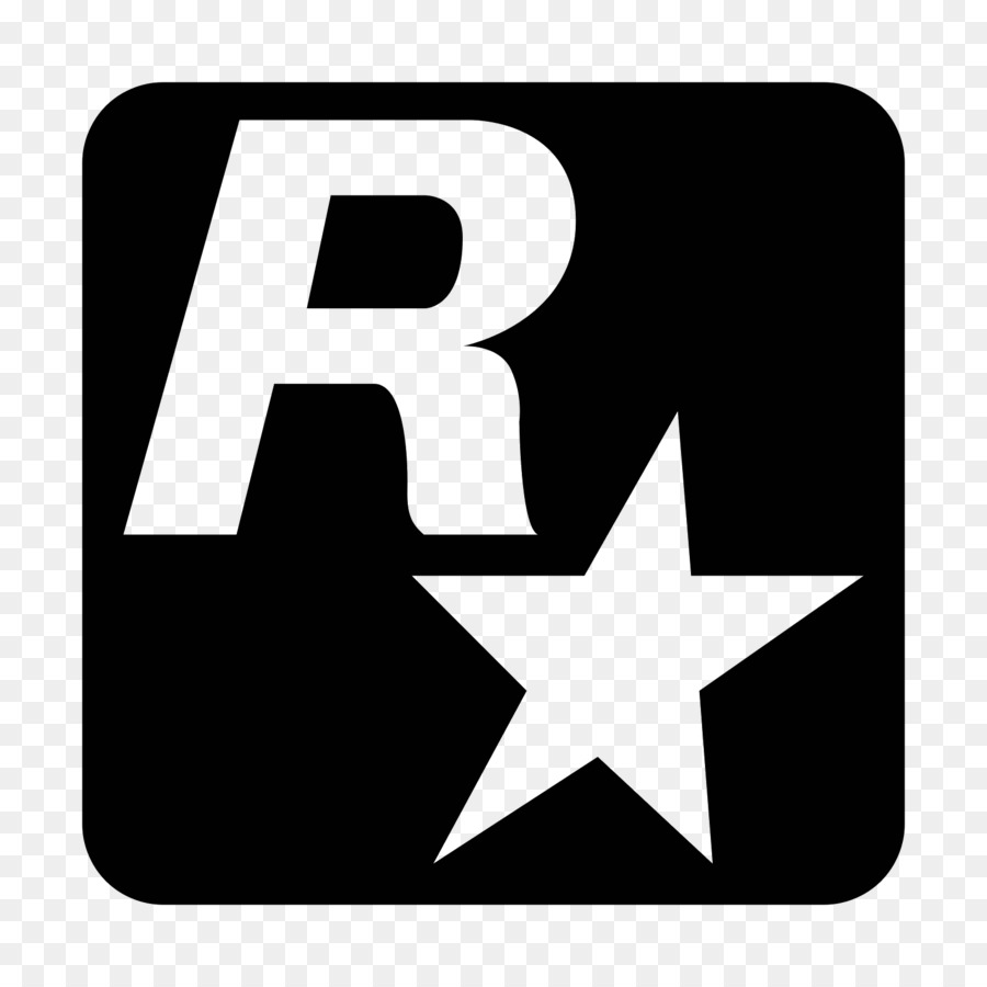 Rockstar games computer icons black white area text png