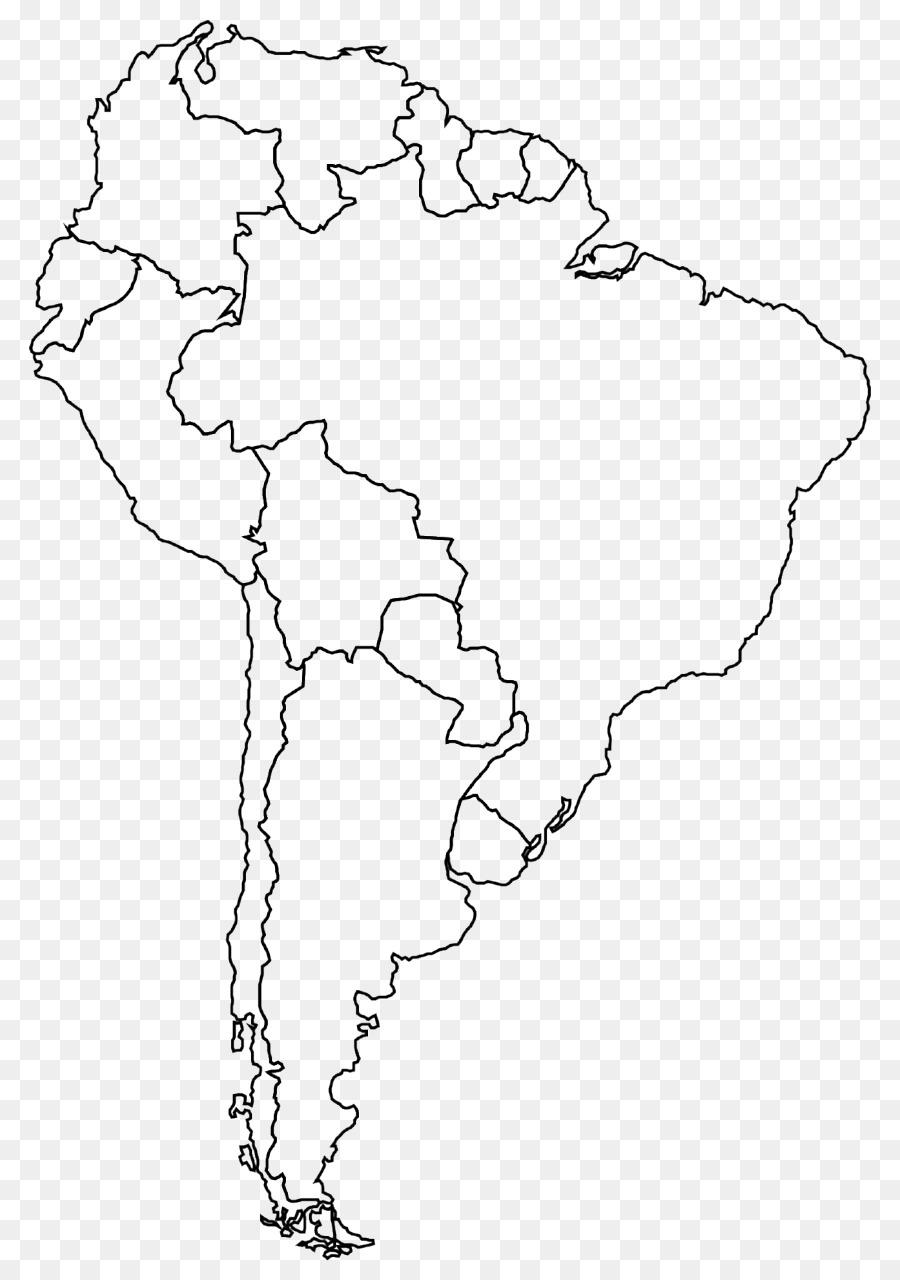 América del sur la Página de América latina, libro para Colorear ...