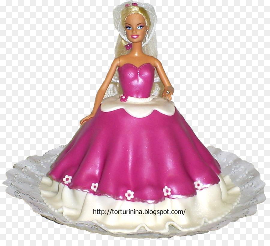 Torte Birthday Cake Barbie Doll Cake Decorating Chucky Png