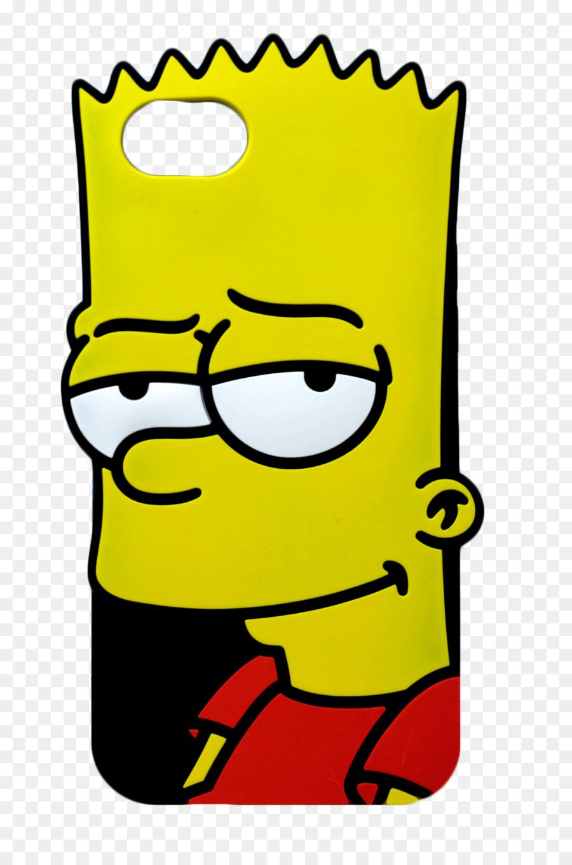 Bart simpson aksesoris ponsel lisa simpson iphone 7 plus telepon bart simpson