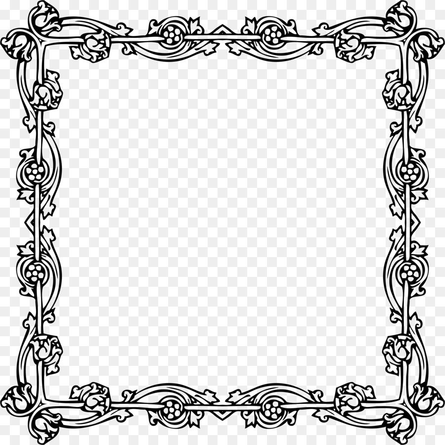 Victorian Era Picture Frames Borders And Clip Art