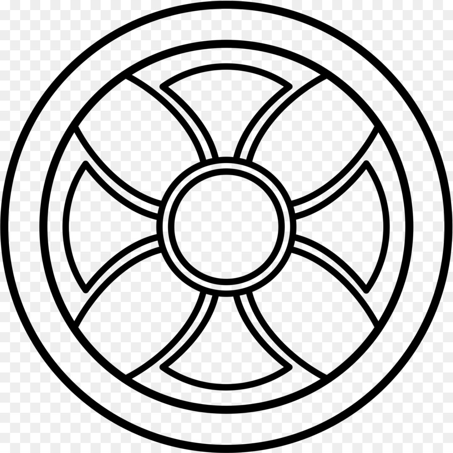 Neolithic Sun Cross Odin Symbol Wheel Of Dharma Png Download