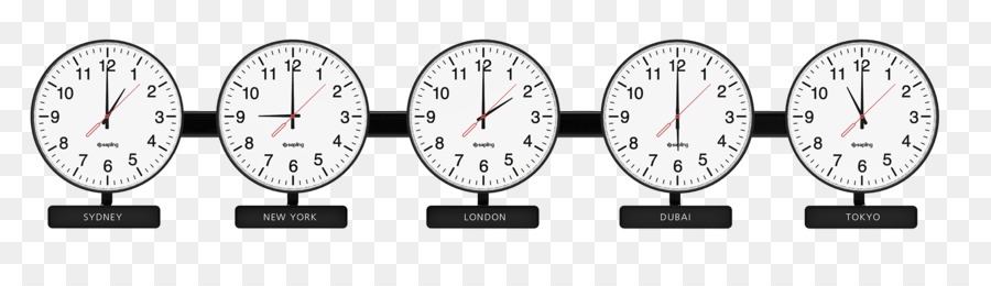 Time zone World clock Standard time - time png download - 2000*548 ...