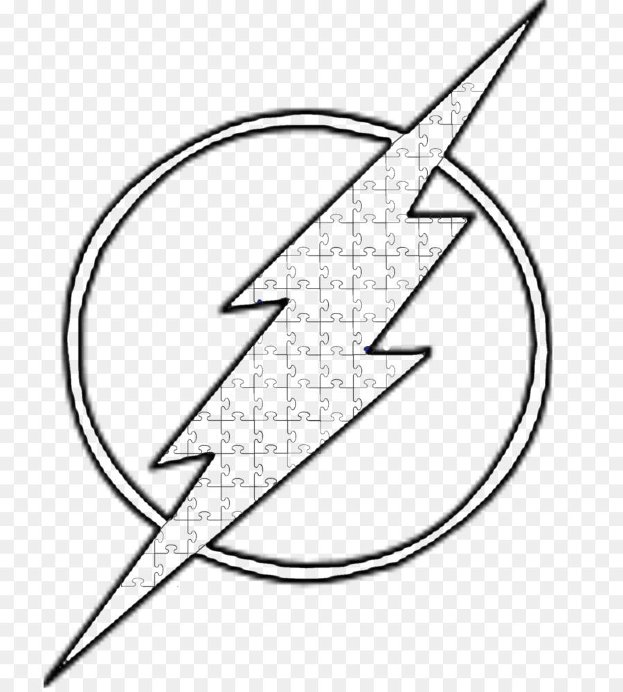 Línea de arte Eobard Thawne El Flash Símbolo de Dibujo - cáncer ...