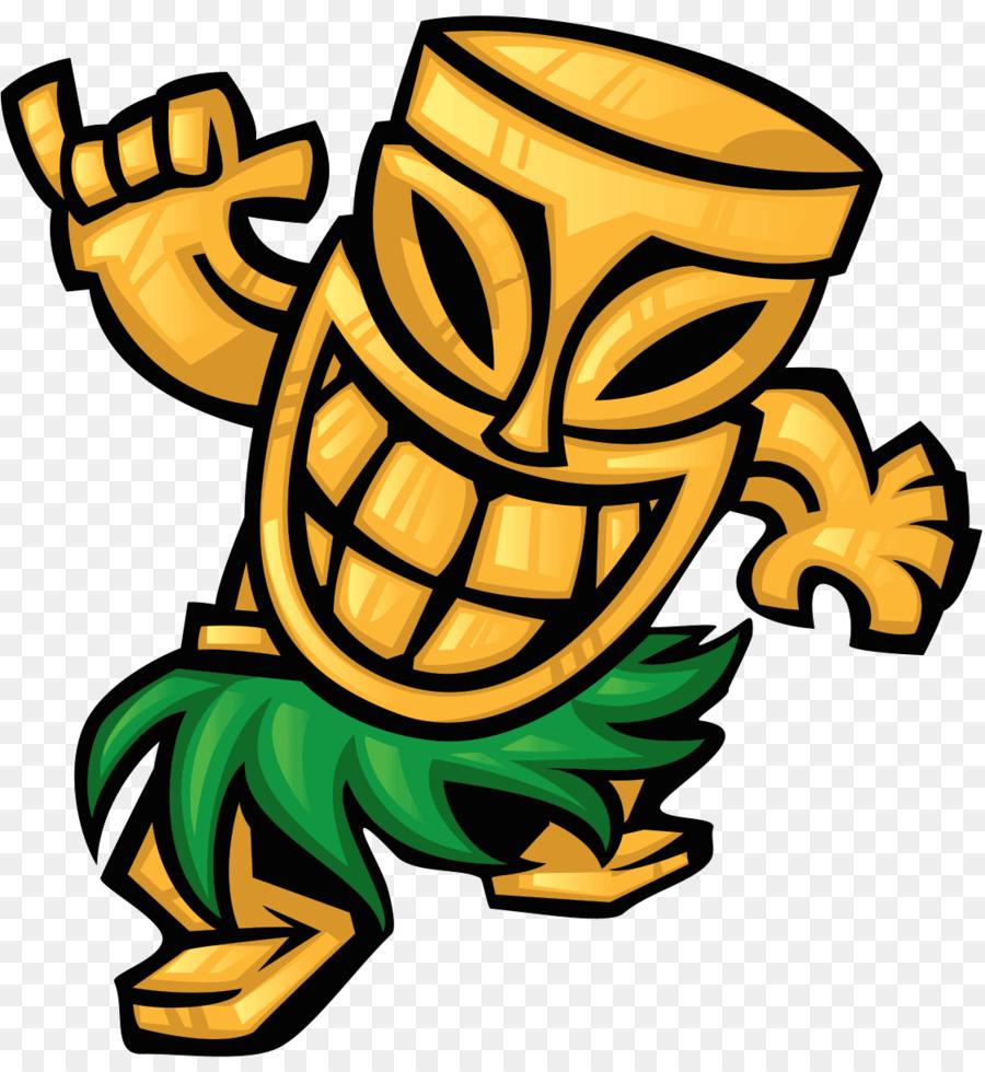 Tiki Bar Cuisine Of Hawaii Hawaiian Mask Png Download