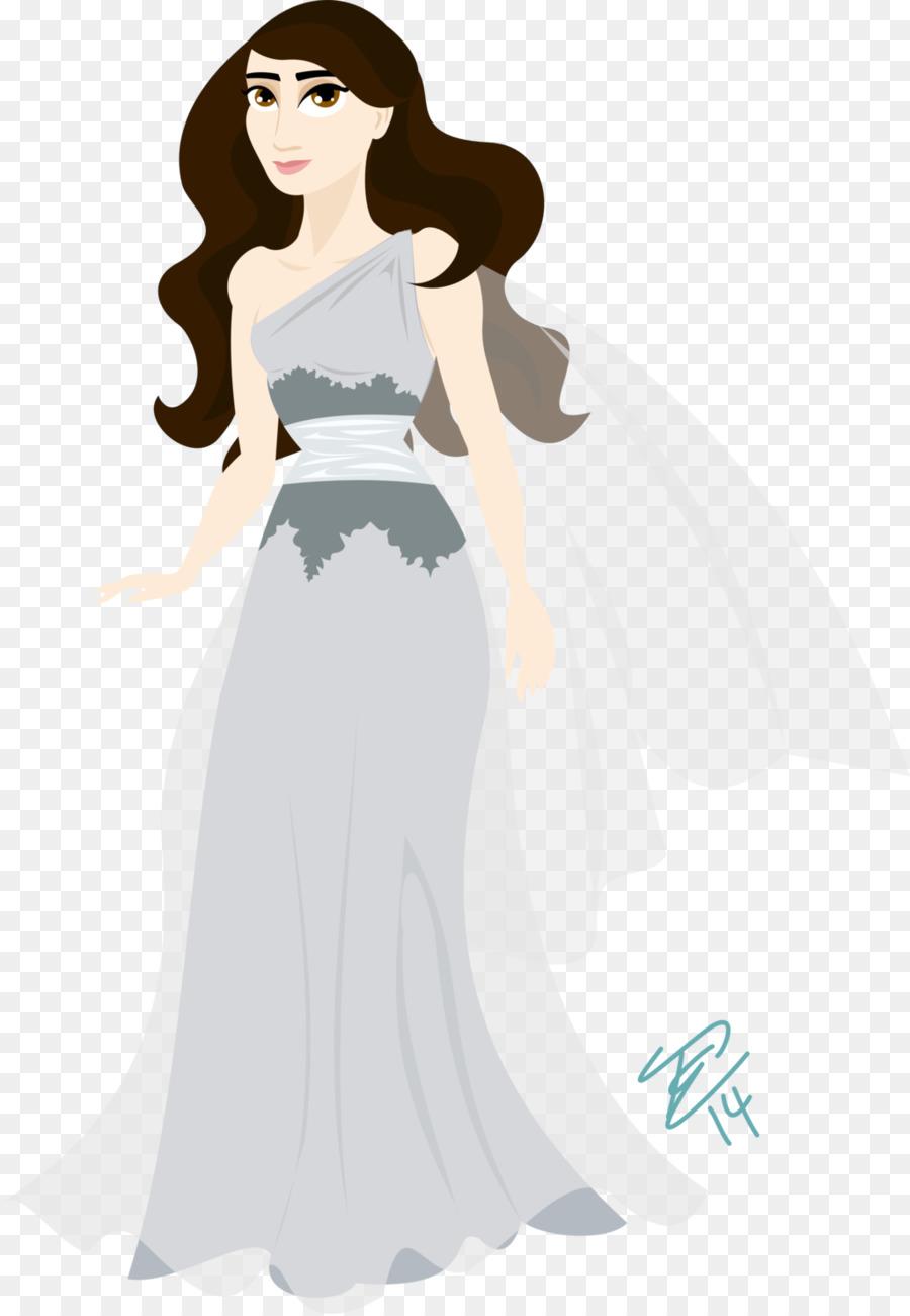 Dress Fashion Wanita Desain Kostum Putri Unduh Berdiri Gaun