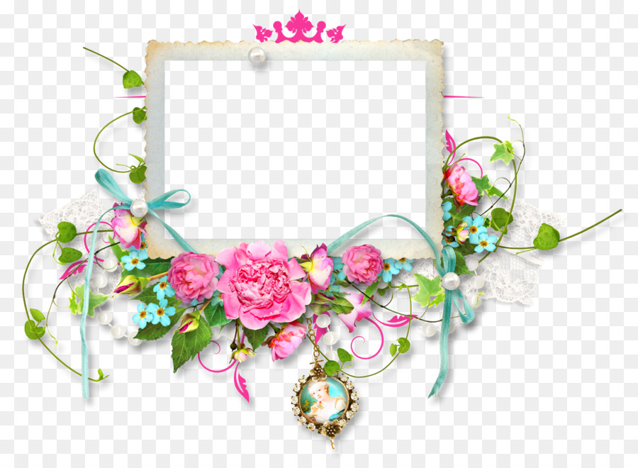 Flower picture frames clip art round frame png download 1600 flower picture frames clip art round frame mightylinksfo