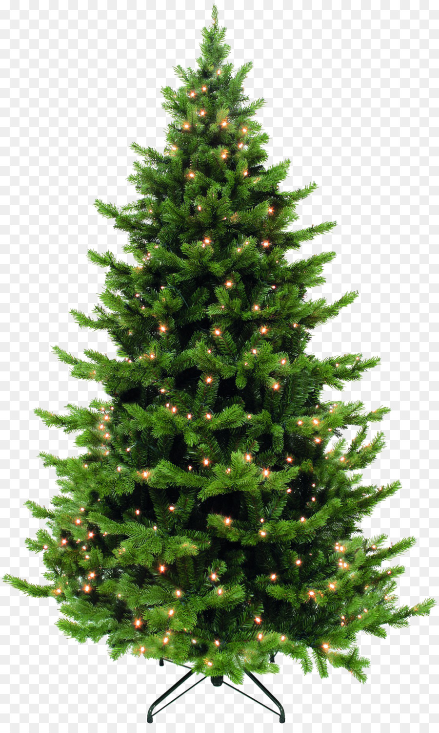 New Year tree Artificial Christmas tree Garland Spruce - fir-tree ...
