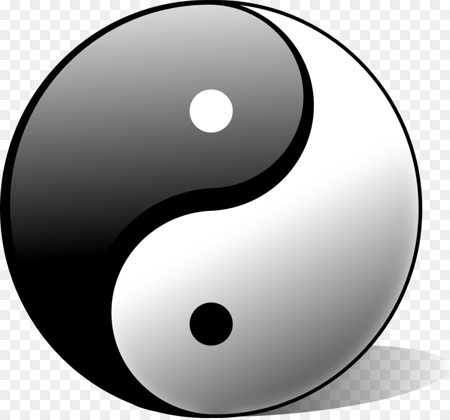 Yin And Yang Meaning Qi Symbol Metaphysics Kiwi Png Download
