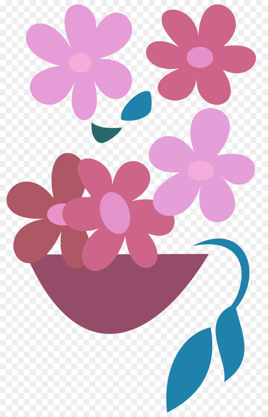 Flower Floral Design Lilac Violet Hanging Flower Png Download