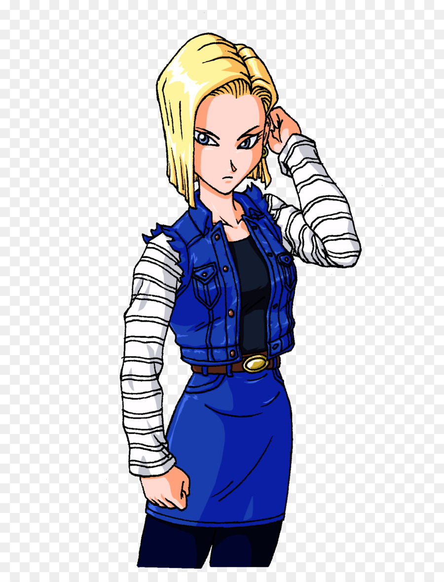 Android 18 17 Dragon Ball Z Colouring Pages Coloring Book