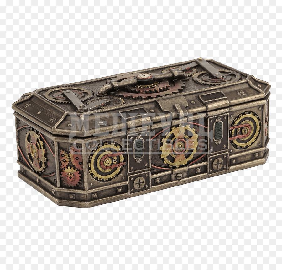 box steampunk gift jewellery casket steampunk gear png download