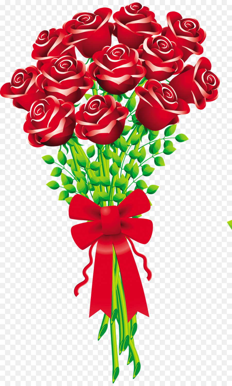 Flower bouquet Rose Cut flowers Clip art - blush floral png download ...