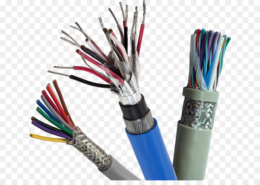 Electrical cable Wire Instrumentation Shielded cable Copper ...