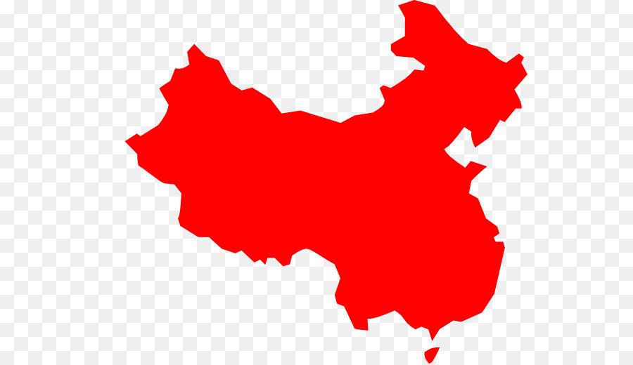 China Vector Map Clip Art Chinese Border Vector Png Download 600