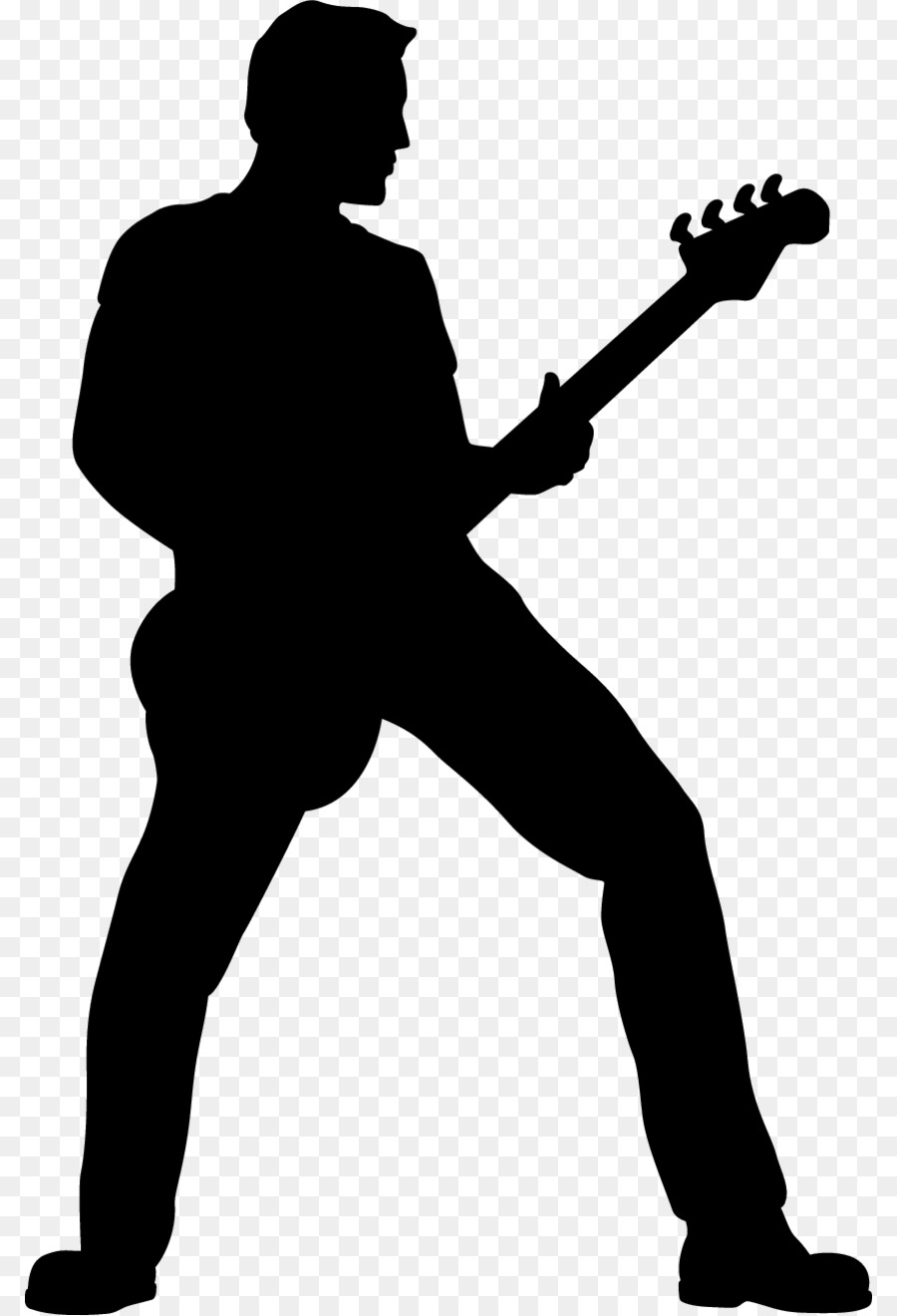 guitarist silhouette clip art band png download 850 1319 free rh kisspng com rock band clipart free rock band clipart free