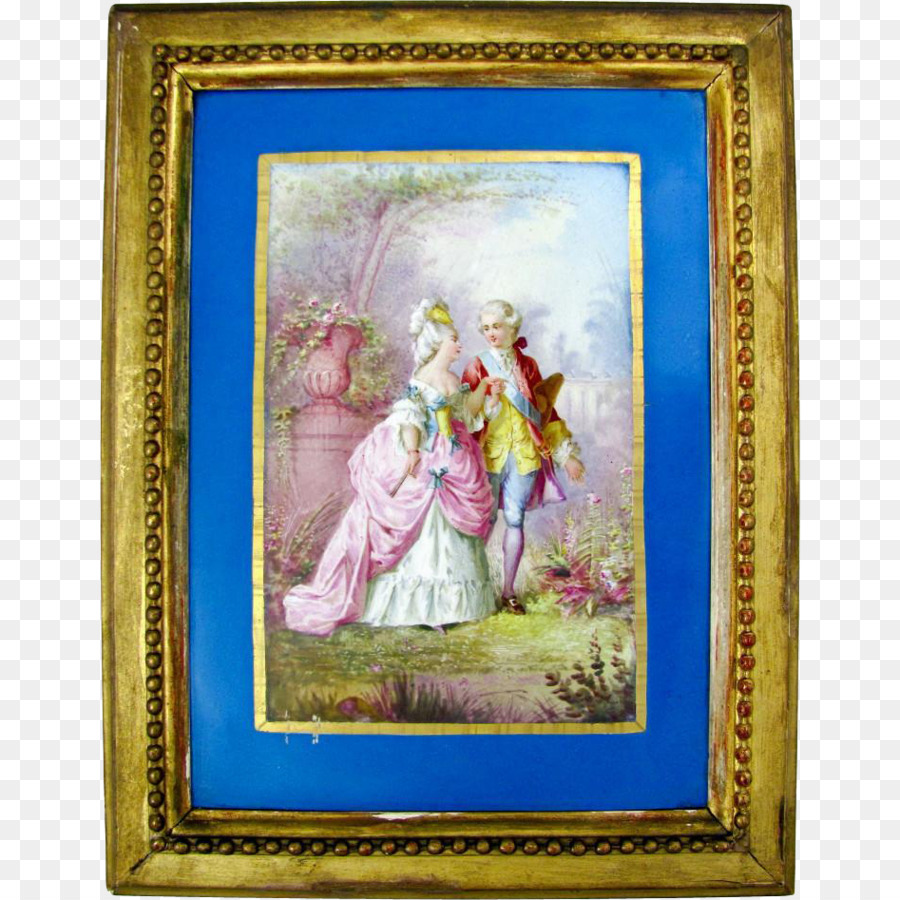 Work of art Painting Picture Frames Art museum - hand-painted couple ...