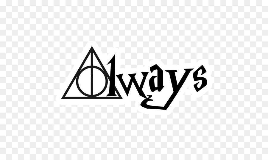 harry potter and the deathly hallows wall decal sticker - always