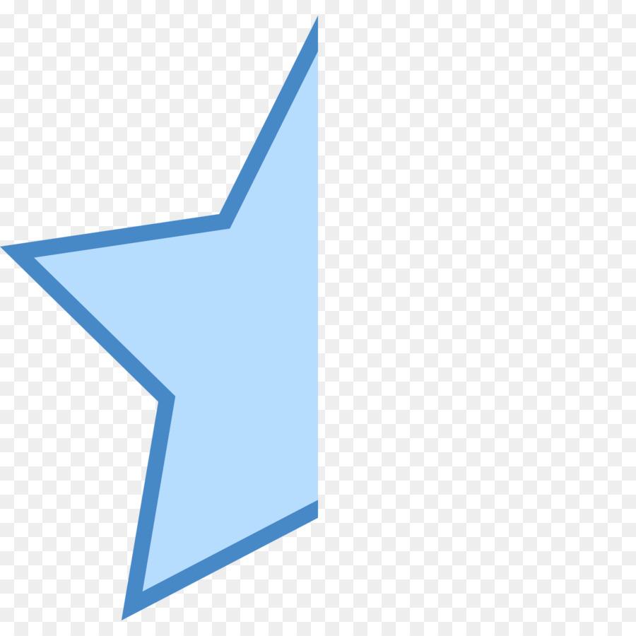 Computer Icons Symbol Star Clip Art Half Png Download 16001600