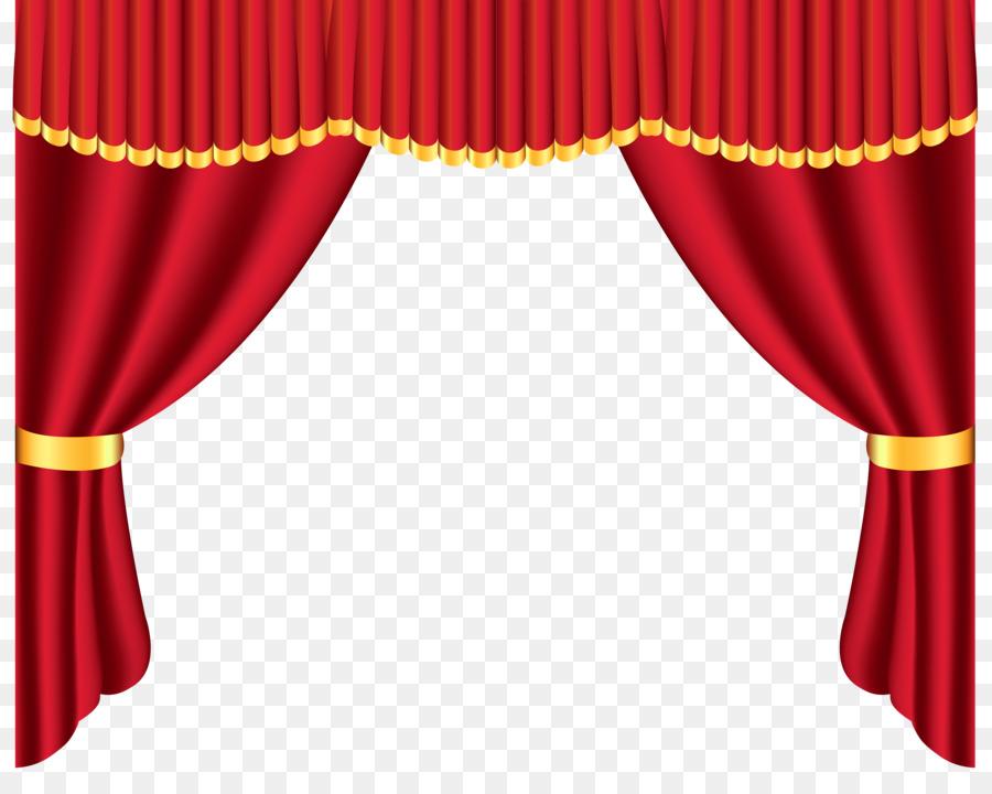 Window Treatment Curtain Clip Art