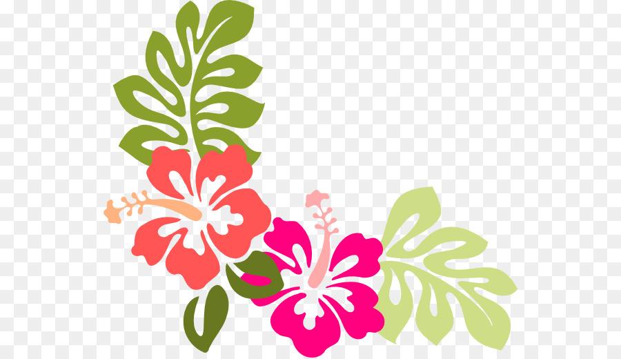 Hawaiian Hibiscus Flower Clip Art Hibiscus Png Download 600518