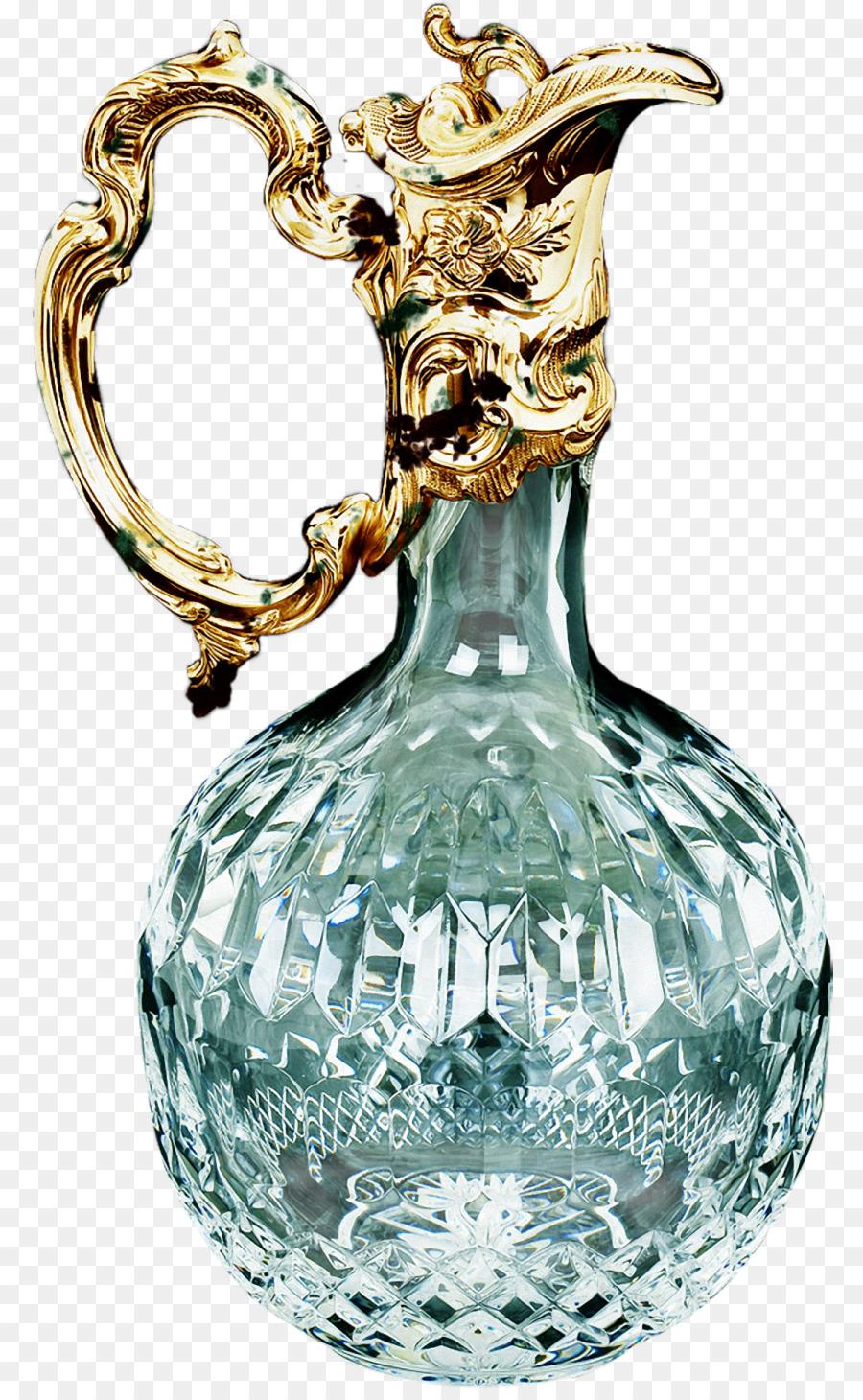 Jarrón De Cristal De Waterford Crystal Decanter Jarra - teal marco ...