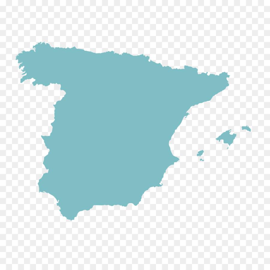 Spain Vector Map Blank Map   Spain