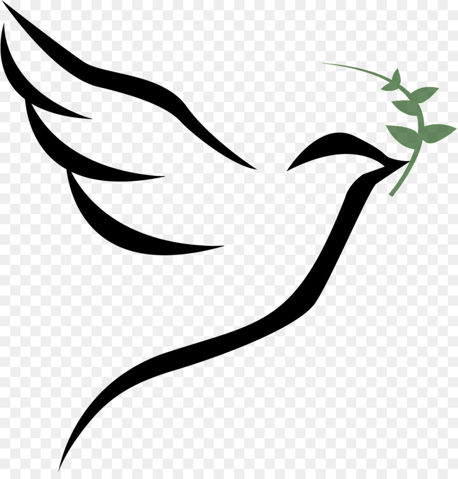 Columbidae Bird Doves As Symbols Holy Bible Png Download 1280