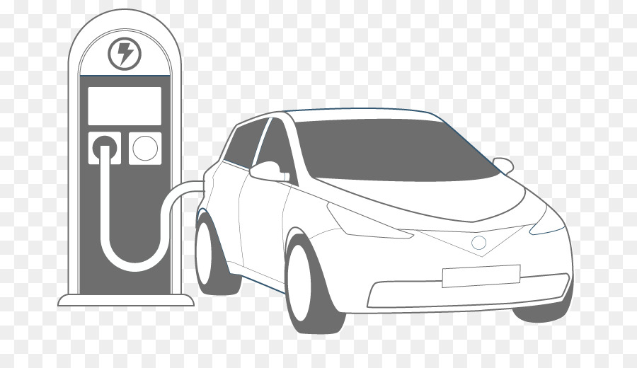 Electric Vehicle Car Charging Station Family Automotive Exterior Png
