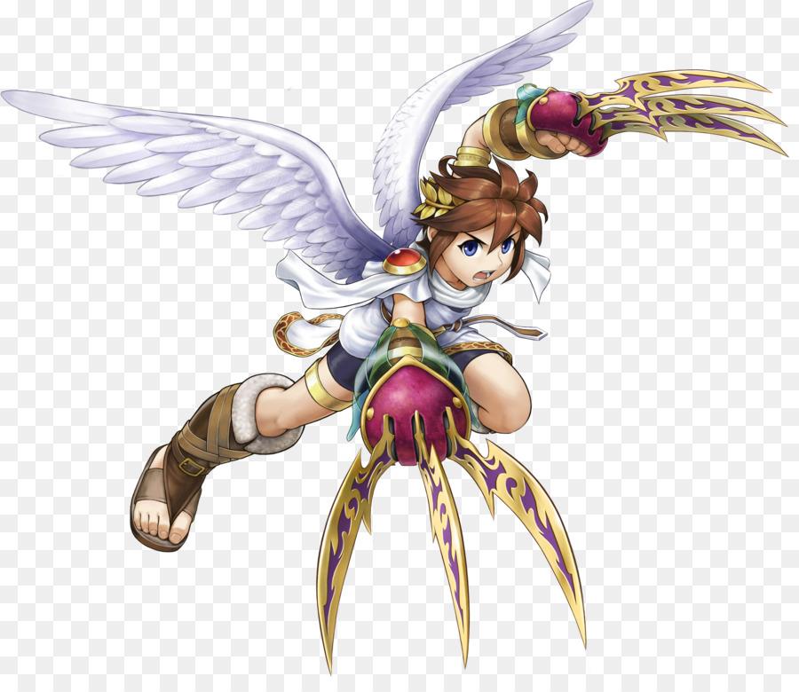 Kid Icarus Uprising Pit Video Game Palutena