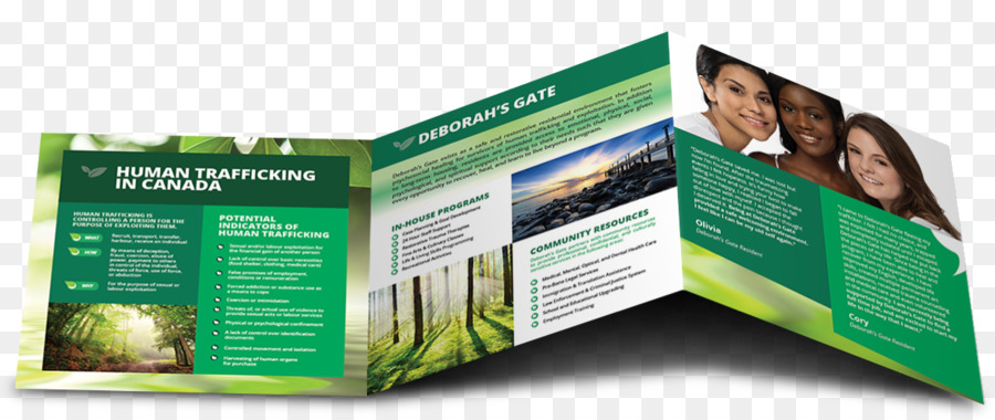 advertising computer software communication brand brochure trifold