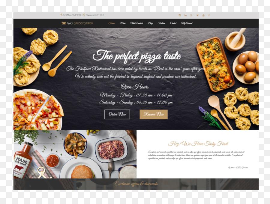 Fast food restaurant responsive web design fast food flyer png fast food restaurant responsive web design fast food flyer forumfinder Images