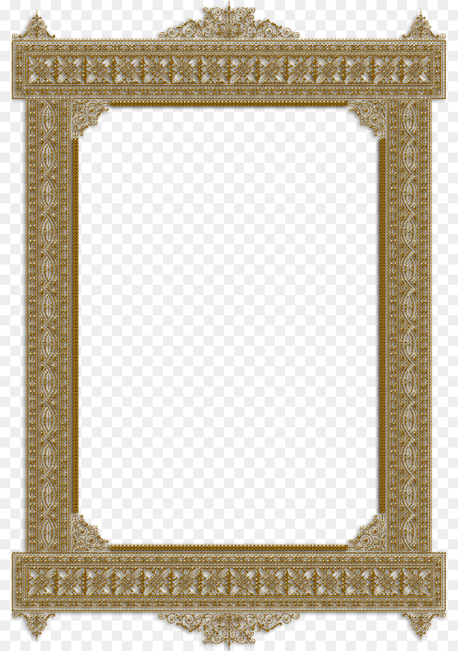 Picture Frames Mat Decorative arts - vintage frame png download ...