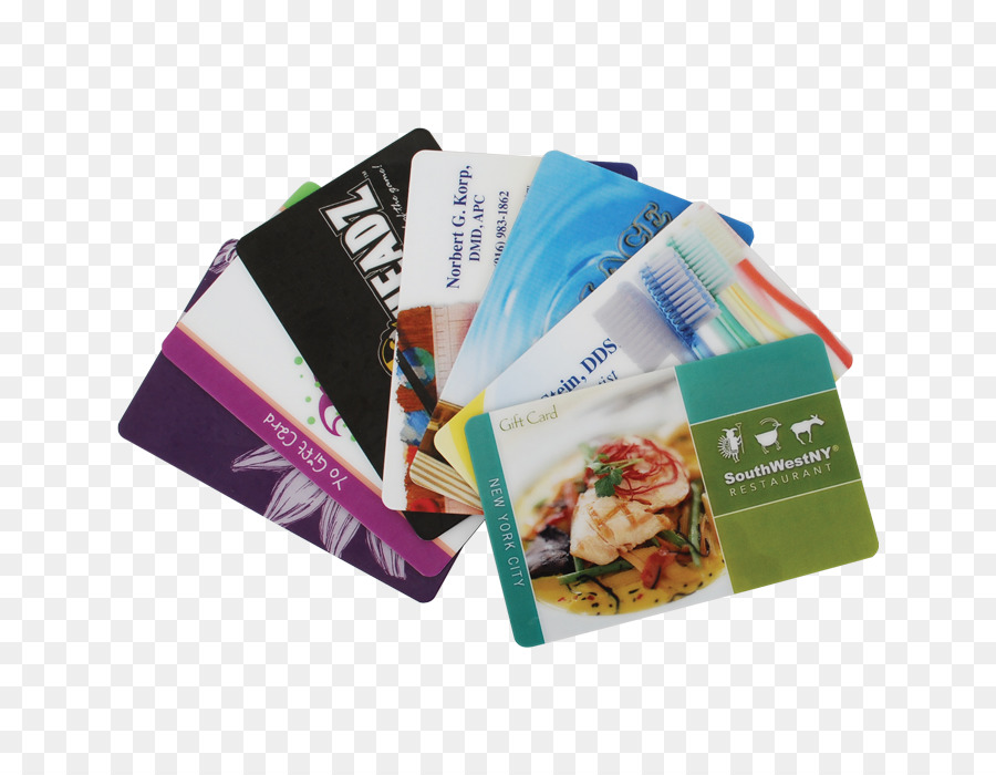 Paper Gift card Printing Business Cards Credit card - gift card gift ...