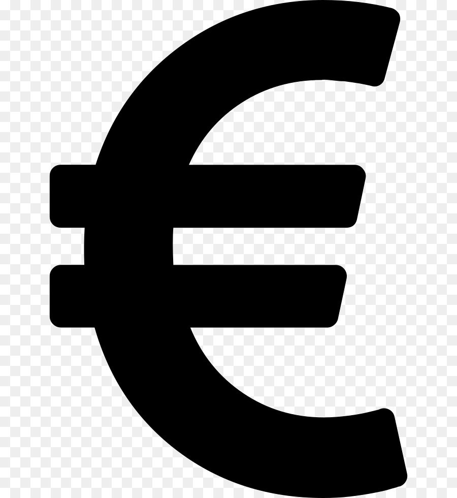 Euro Sign Currency Symbol Dollar European Style Wedding Logo