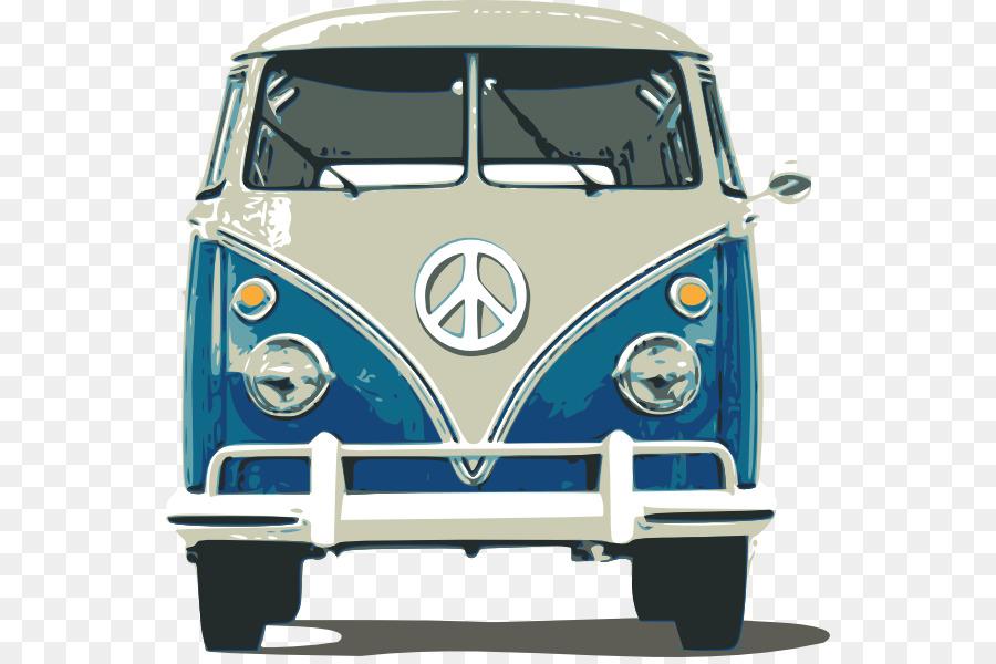 Volkswagen Type 2 Volkswagen Beetle Van Car - cartoon car ...