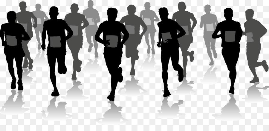 Half Marathon Running Clip Art