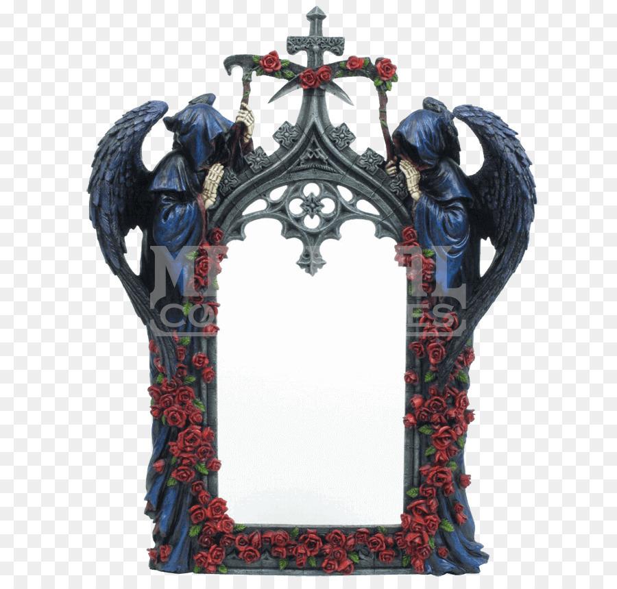 La calcomanía de pared Cartel de Arte Espejo - gótico png dibujo ...