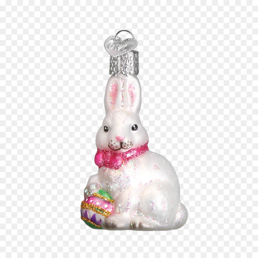 easter bunny christmas ornament christmas decoration hand painted food