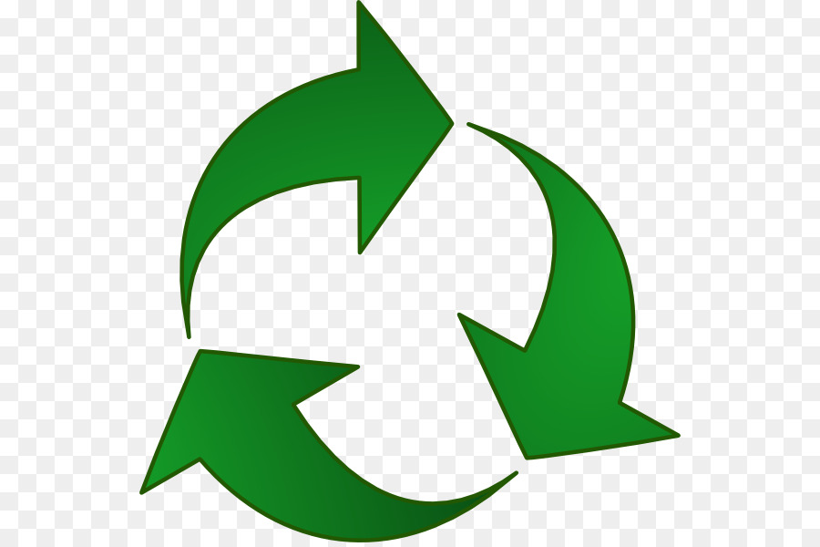 Recycling Symbol Green Dot Arrow Clip Art Recyclable Png Download