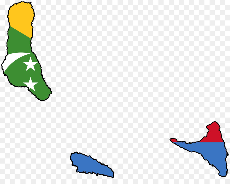 Flag of the Comoros Comoro Islands Map road map png download